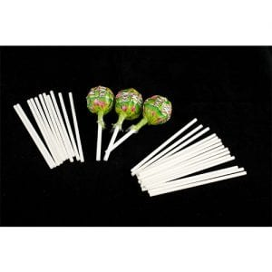 Rolled Paper - Lollipop Sticks